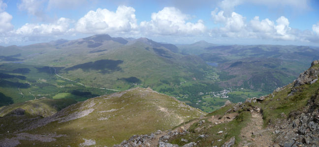 towards Beddgelert