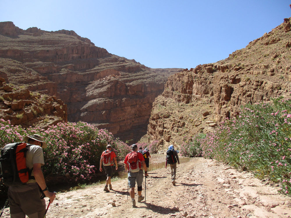 Walking through the second gorge