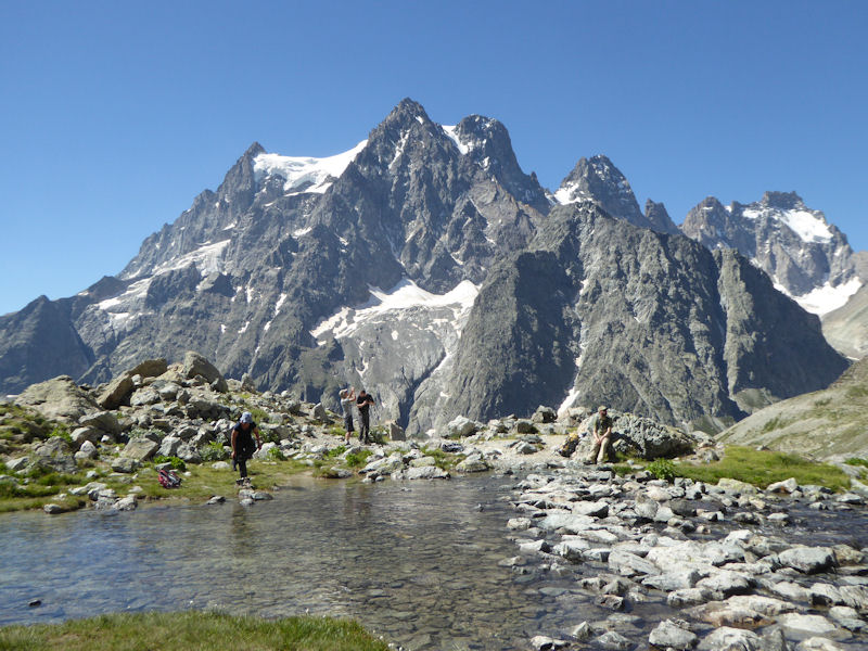 Mont Pelvoux, on the way to the Ecrins Hut