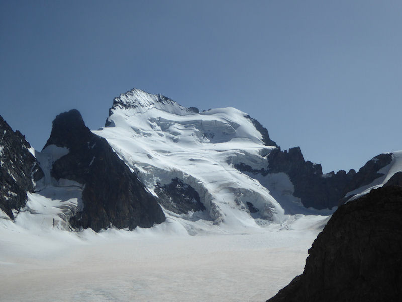 North face of Barre des Ercins