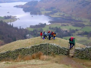 gang overlook Ullswater