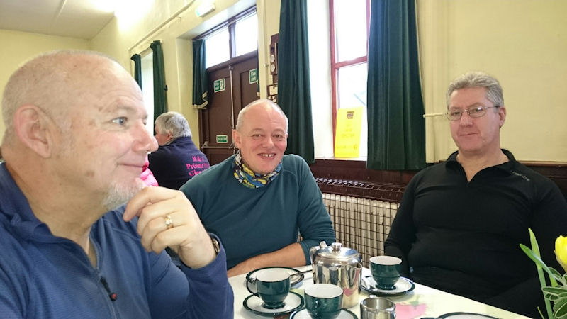 Pop up cafe at Glenridding village Hall, Sunday lunch being served. Photo by Andy Burton