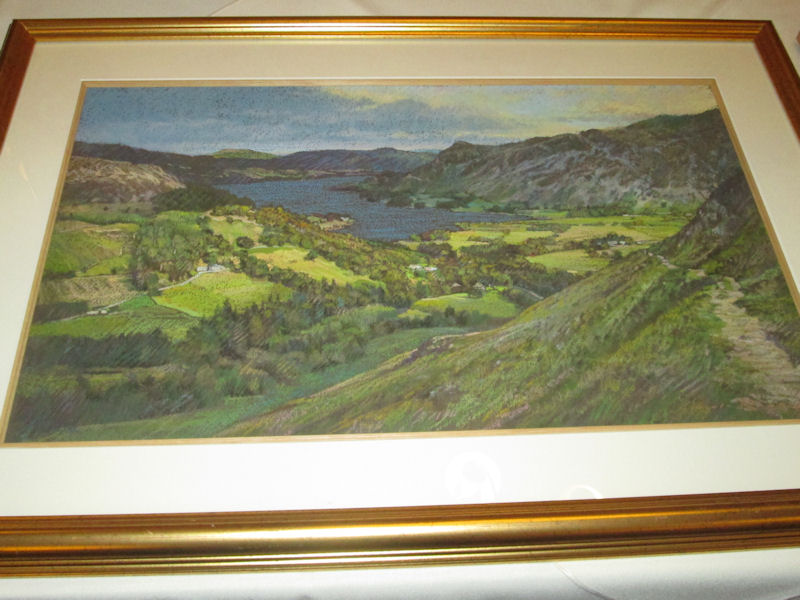 one of Lincolns Lake District paintings. Photo by Don Hodge