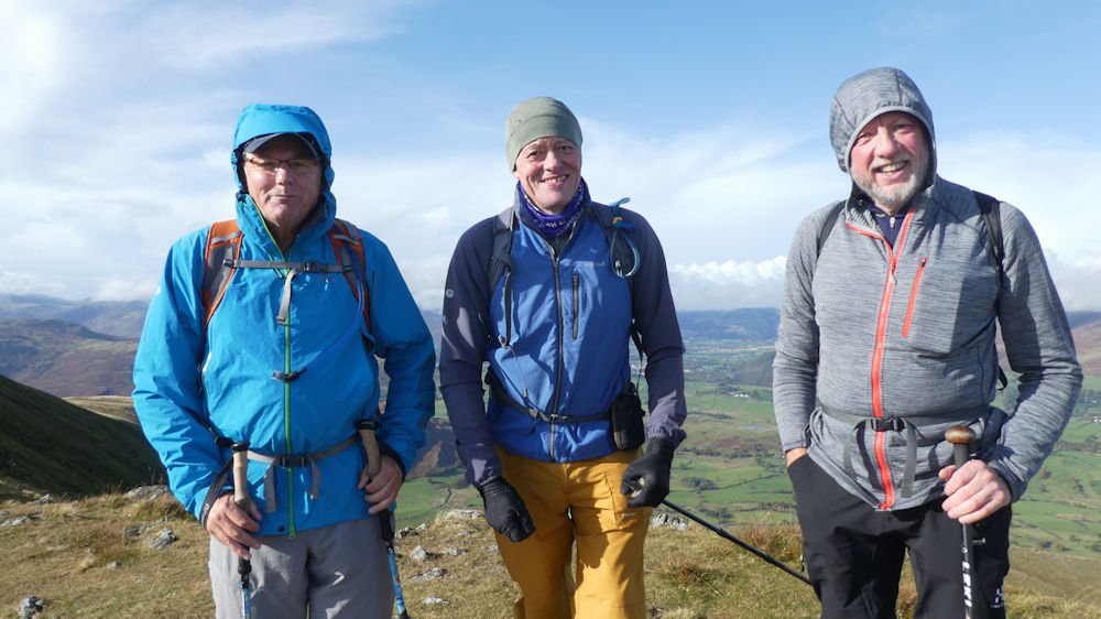 Team on Great Dodd
