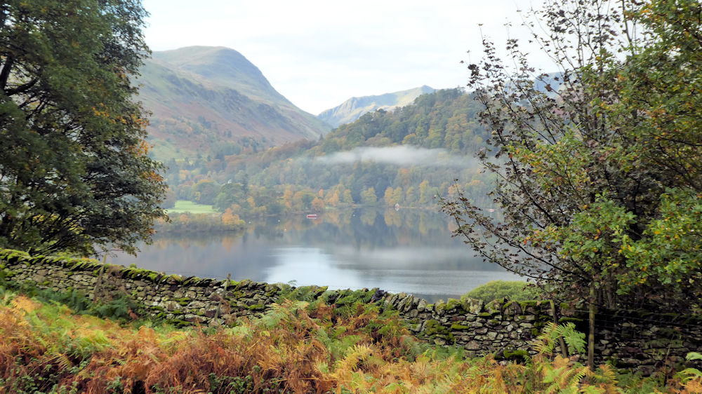 Autumn colours across Ullswater