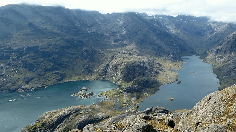 Cullin Ridge form Sgurr na Stri. Photo by Ed Bramley
