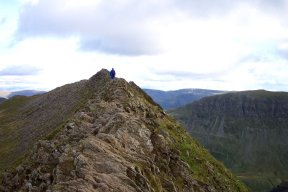 descent of Striding Edge